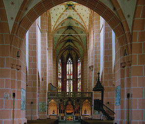 Liebfrauen church Oberwesel interior, Spatial Humanities