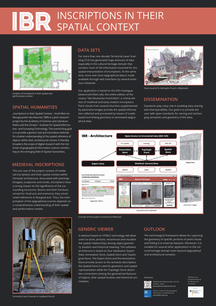Project Poster 'Inscriptions in their Spatial Context'